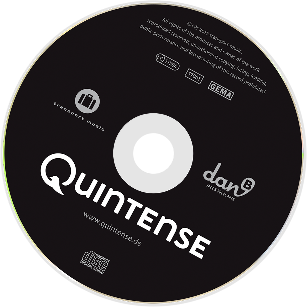 Quintense - EP - Cover - CD