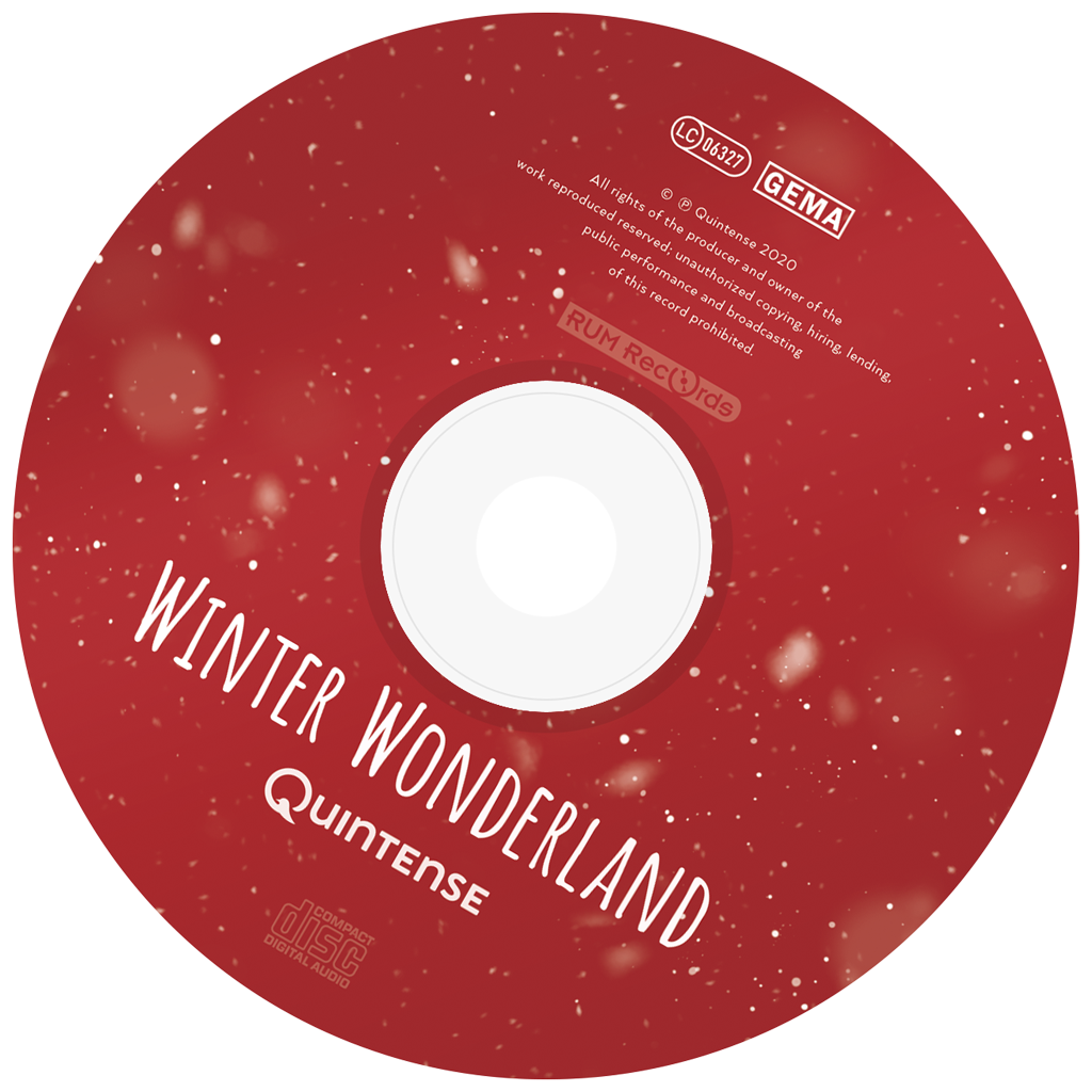 Quintense - Winter Wonderland - Cover - CD