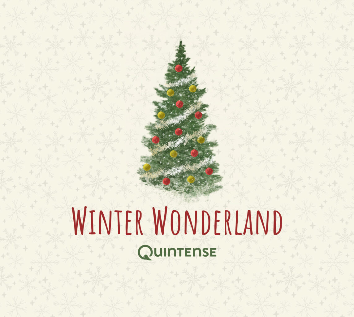 Winter Wonderland - CD-Cover - Quintense